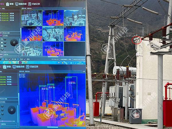 电力设备温度监测